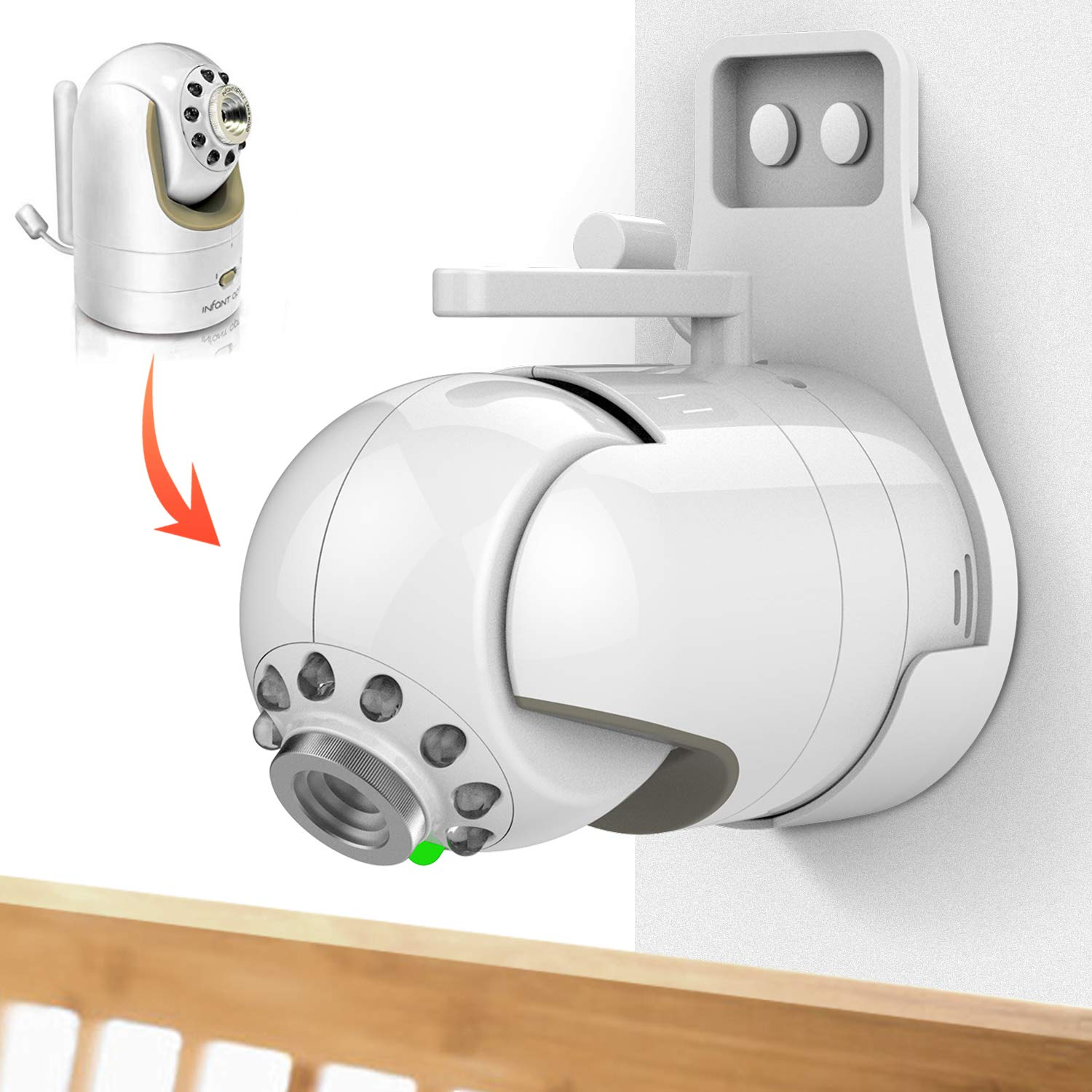 Amazon.com : Infant Optics DXR-8 Video Baby Monitor with