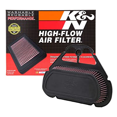 K&N Engine Air Filter: High Performance, Premium, Powersport Air Filter: 1999-2009 YAMAHA (YZF R6S, YZF R6) YA-6001: Automotive