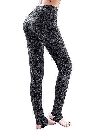 Le World Pantalones de Yoga para Mujer Leggings de Cintura ...