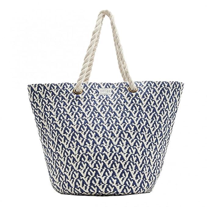 Joules Rafia de palermo imprimir bolsa de playa (y) Natural One Size: Amazon.es: Ropa y accesorios