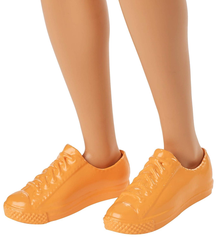 Juguete Barbie Fashionista-Mu/ñeco Ken Rubio con pantal/ón Blanco Mattel 3 a/ños GDV12