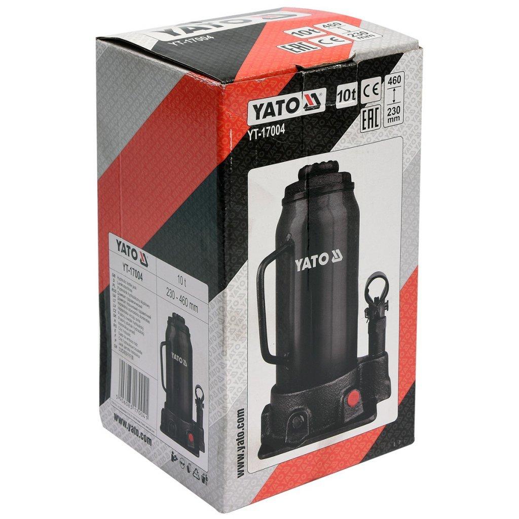 Yato yt-17004-cric Hydraulic Bottle 10 Tonnes