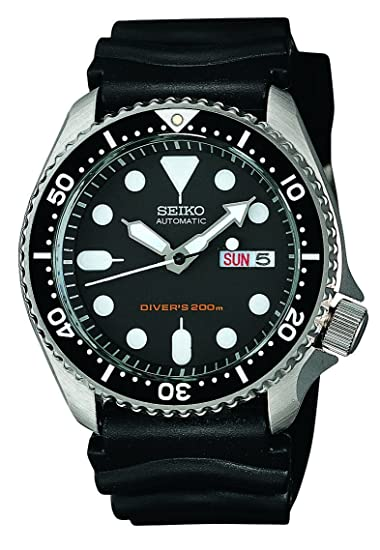 seiko men s skx007k diver s automatic watch seiko amazon ca watches