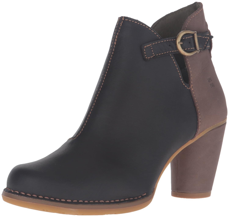 El Naturalista Women's N472 Colibri Ankle Bootie B01BEDJWQO 37 M EU / 7 B(M) US Black/Plume
