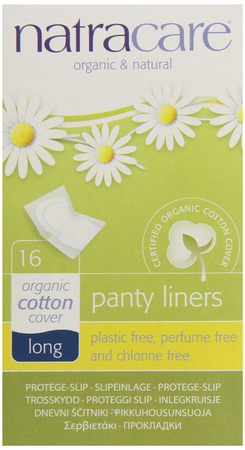 (Pack Of 3) Panty Liners - Long Wrapped | NATRACARE