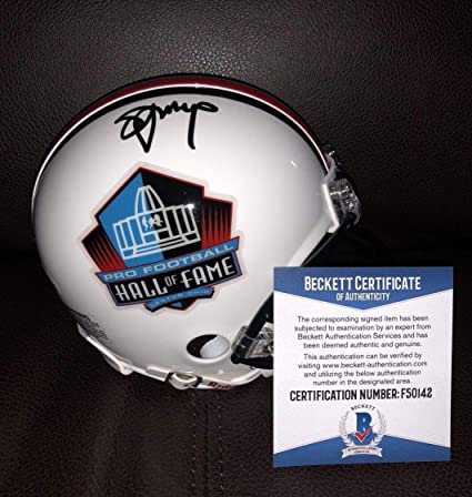 809209b2b Image Unavailable. Image not available for. Color: Steve Young Autographed  Signed Auto Hall Of Fame Mini Helmet Sf 49ers ...