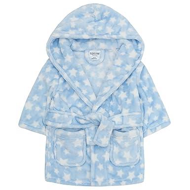 b9bc93ccdbbcc Amazon.com: BABYTOWN Baby Boys Soft Teddy Bear Plush Dressing Robe: Clothing