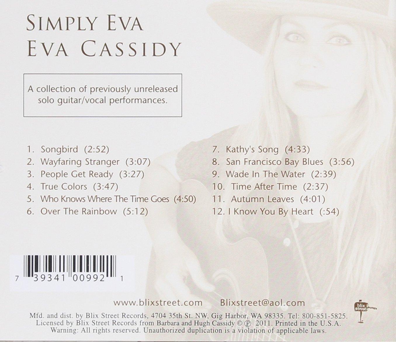 Eva Cassidy - Simply Eva - Amazon.com Music