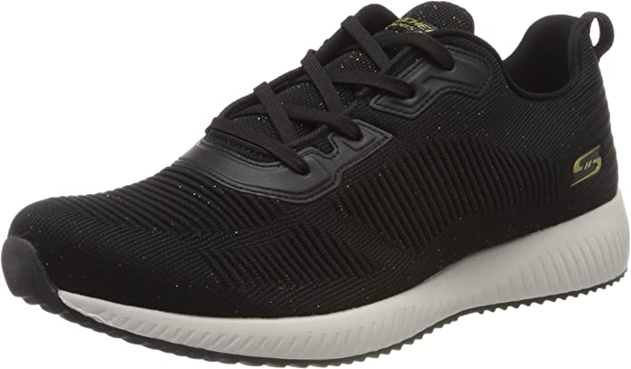 Skechers Bobs Squad Total Glam 32502, Zapatillas para Mujer