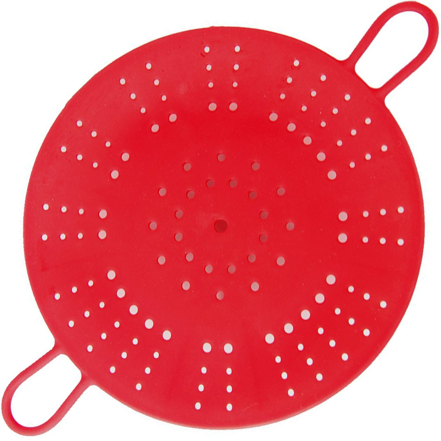 Vegetable Steamer Tray with Handle Bars for Healthy Cooking Fruits, Basket Pressure Cook Heat- Resistant Microwaveable, Dishwasher Safe