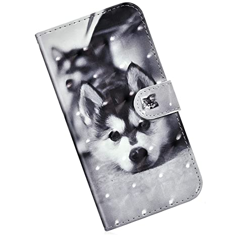 Felfy Kompatibel mit Huawei P Smart 2019 H/ülle,Kompatibel mit Huawei P Smart Handyh/ülle Leder Schutzh/ülle Magnetic Flip Case Gemalt Katze Muster PU Lederh/ülle Tasche Bumper mit Stand Function
