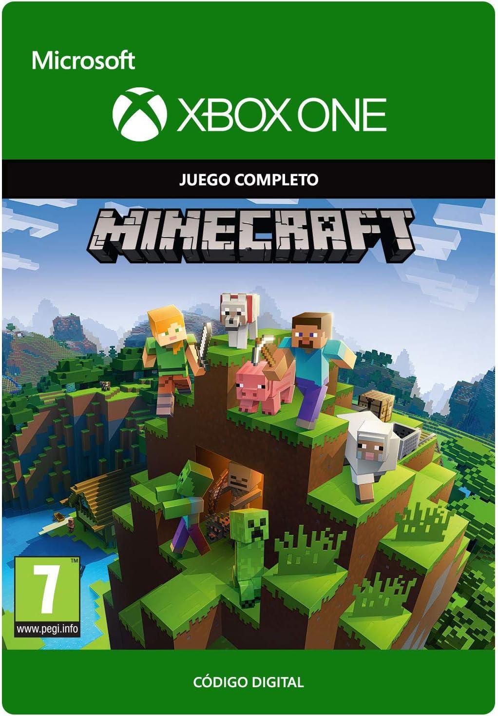 Minecraft - Edición Estándar, Xbox One, Online Game Code: Amazon ...