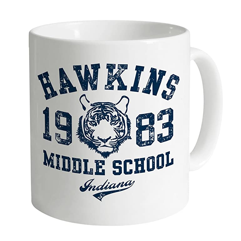 Inspired By Stranger Things - Hawkins Middle School Taza