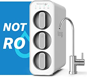 Waterdrop TSC Under Sink Water Filter System, USA Tech, Smart Filter Life Reminder, Remove 99% of Lead, Fluoride, Chlorine, Bad Taste and Odor, 0.5 Micron