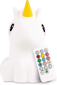 LumiPets Coloring Light Night Unicorn Toys