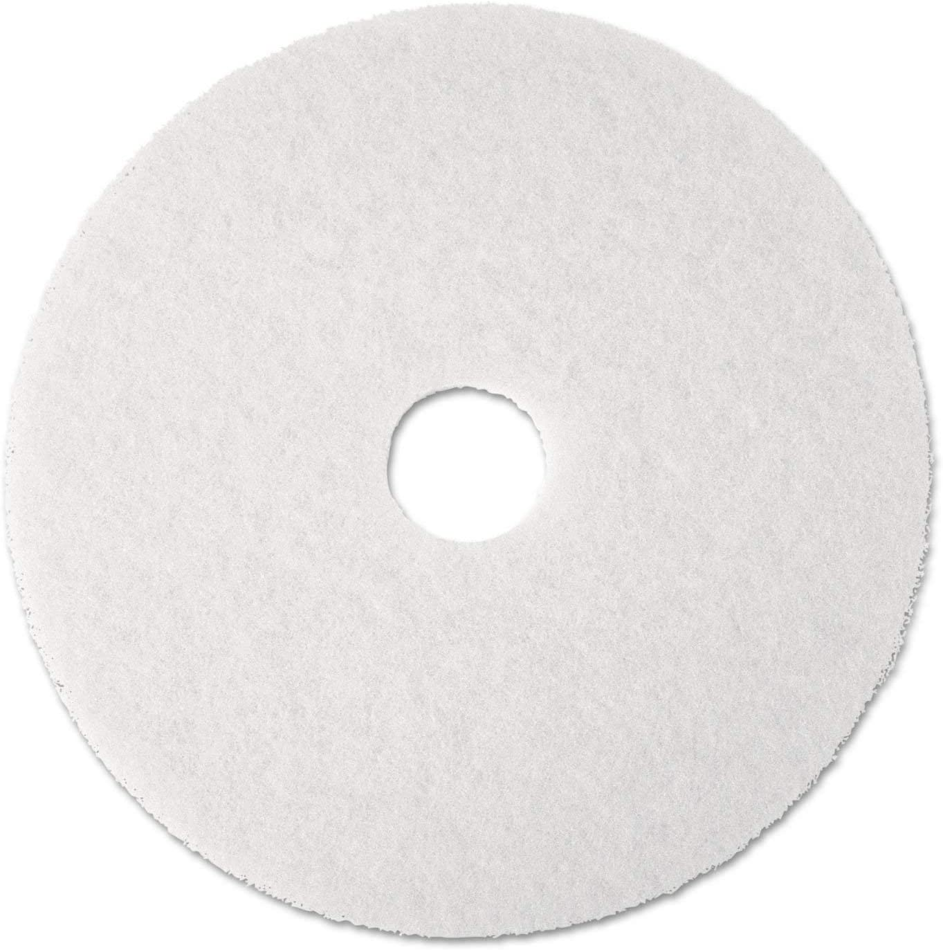 "3m 4100-20 Super Polish Floor Pad 20"" - White (Pack Of 5)"
