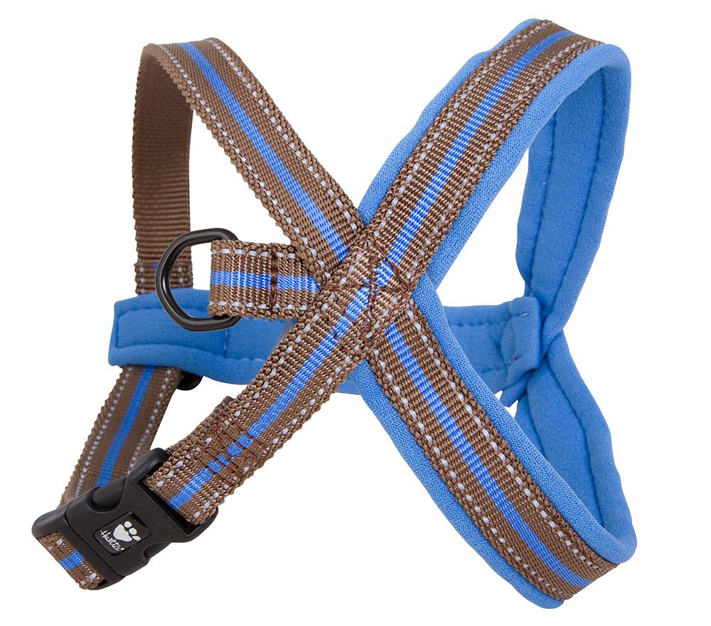 Hurtta Padded Y-Harness color bluee Size 90cm