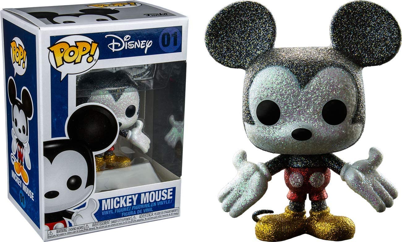 FunKo Mundotaku Pop! Mickey Mouse Glitter 01 Diamond Collection Exclusive