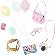 Glitter Girls by Battat – Sight for Bright Eyes Sightseeing Accessory Set – 14-inch Doll Clothes and Accessories for Girls A