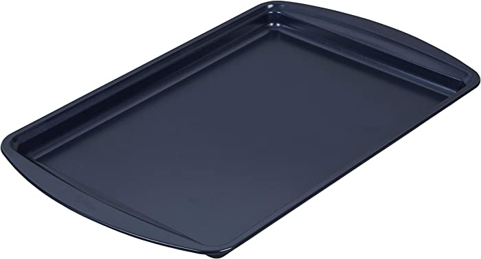 Wilton Non-Stick Diamond-Infused Medium Navy Blue Baking Sheet, 15.2 x 10.2-inch
