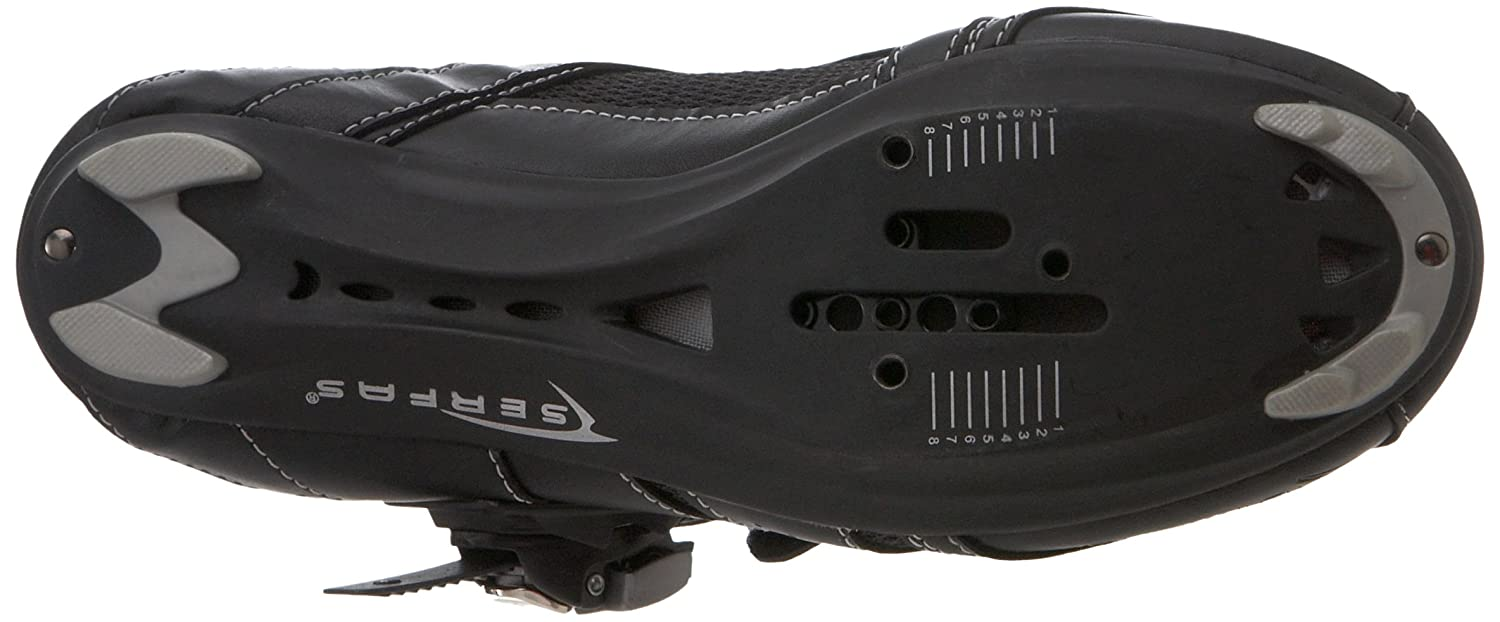 6.5 M US Women/'s Serfas Womens Podium Road Shoe Black 38 EU SSPSWW