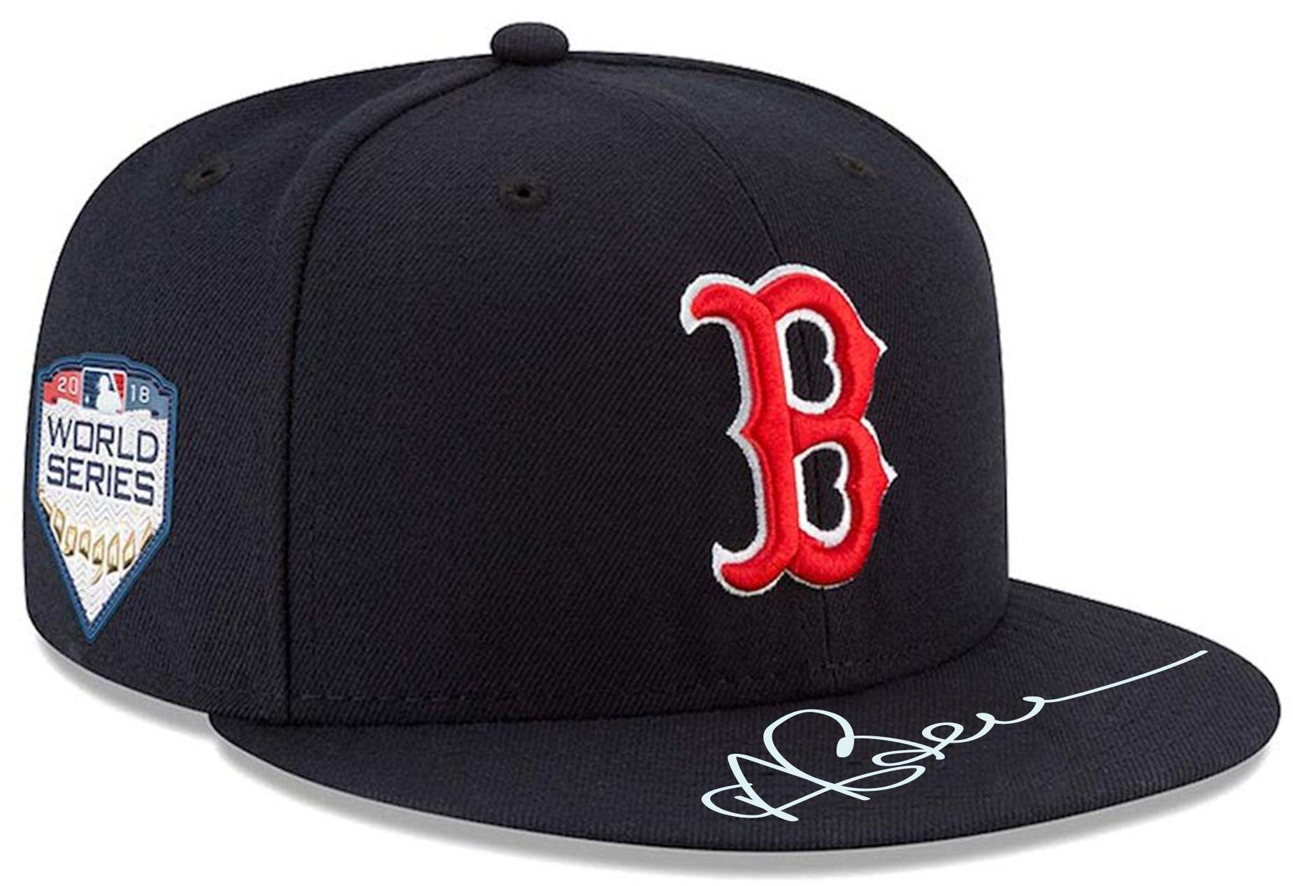 Andrew Benintendi Boston Red Sox 2018 MLB World Series Champions Autographed World Series Cap Fanatics Authentic Certified