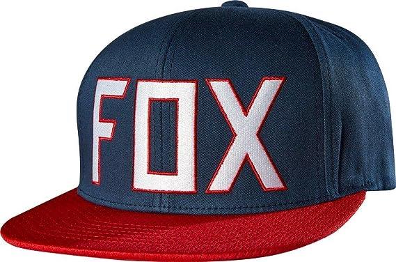 Gorra Fox Racing: Assist Indo BL/RD: Amazon.es: Ropa y accesorios