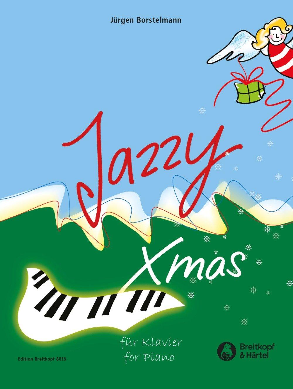 Jazzy Xmas für Klavier - 20 Weihnachtslieder im Jazzgewand (EB 8818)
