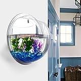 Diamondo Half-Sphere Acrylic Wall Mounted Hanging Bubble Fish Tank Bowl Aquariums Hydroponic Plant Home Decor