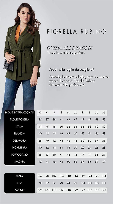 Donna Camicia Over Stile Rock Italian Plus Size Fiorella Rubino