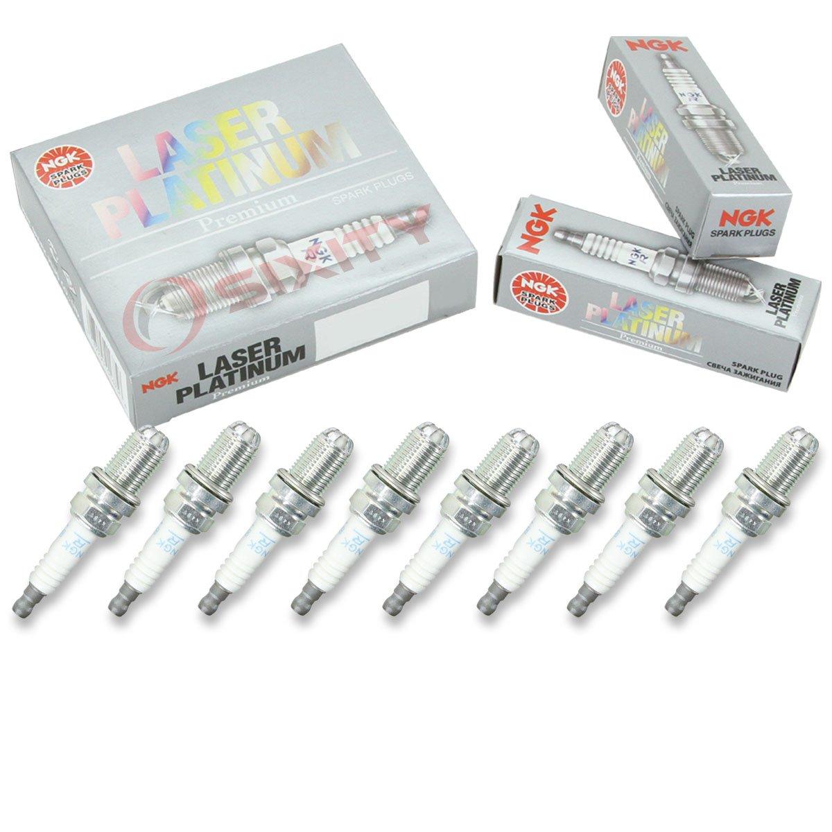 NGK tóner Platinum - Juego de bujías Audi S4 04 - 06 4.2L V8 Kit Set Tune Up: Amazon.es: Coche y moto