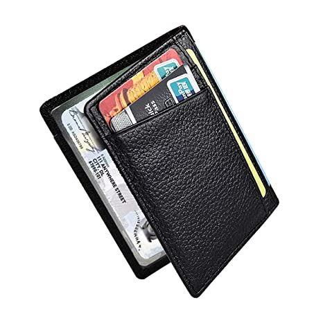 a36c98534b Netspower Portafoglio Con Protezione Rfid,Porta Tessere Slim Tascabile, Slim  Wallet, Regalo per