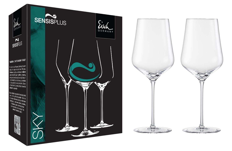 Eisch Sky Burgundy Sensis Plus Lead-Free Crystal Wine Glass 25.1-Ounce Set of 2