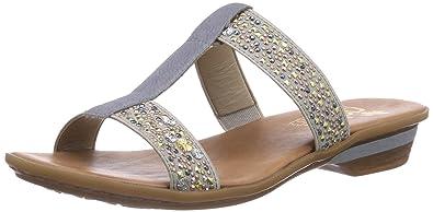 Rieker 63454 Damen Pantoletten  Amazon.de  Schuhe   Handtaschen d888583c73
