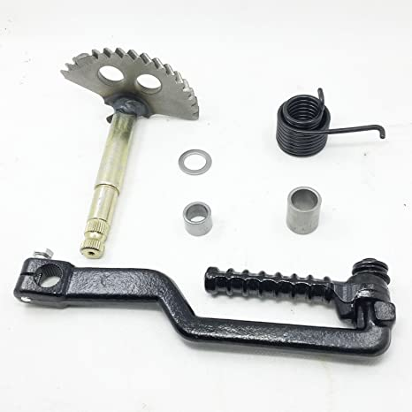 Kick Start Shaft Gear & Kick Start Starter Lever GY6 150cc Chinese Scooter  Parts