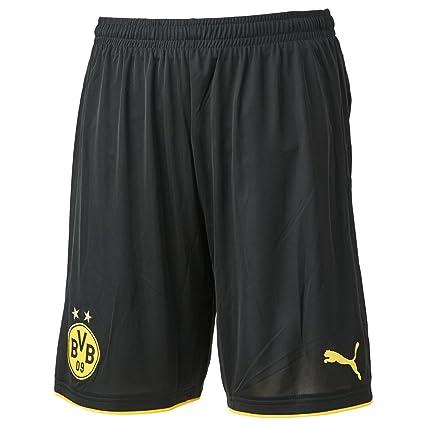 0119a3861 Amazon.com  PUMA 2016-2017 Borussia Dortmund Home Shorts (Black ...