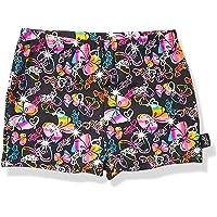 Jojo Siwa By Danskin Girls Big Colorful Sparkle Gymnastics Short, Bow Party Print/black-91000