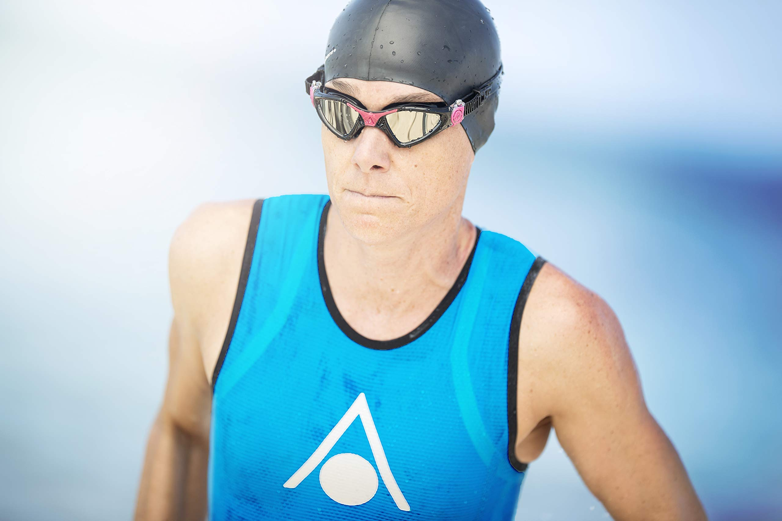 Aqua Sphere Kayenne Ladies with Clear Lens (Trasp/Fuxia) Swim Goggles for Women by Aqua Sphere (Image #7)