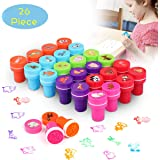 TedGem Stamps for Children, Childrens Stamps, Animal Stamps, Stamp Sets for Children Portable&Rich in patterns, A Good Toy for Children to Entertain (26 PCS)