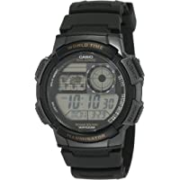 Casio Men's Dial Silicone Band Watch - AE-1000W-1AVDF