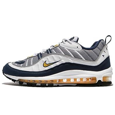 Nike AIR MAX 98 White Tour Yellow SZ 15 [640744 105]: Amazon