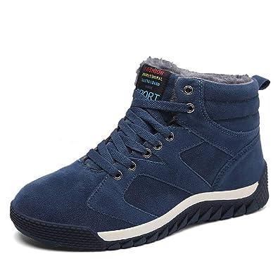ad9e306500a Amazon.com   Robert Reyna Trendy Men Winter Boots Male Snow Boots ...
