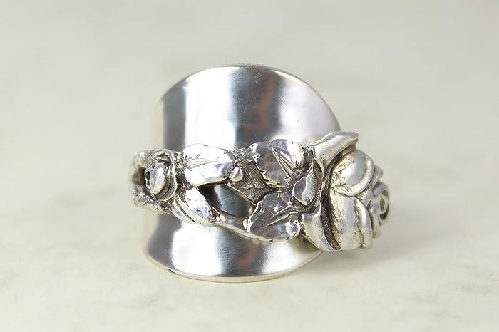 Rosen Ring 800 Silber Besteckschmuck Ring Ca 57 181 Besteck