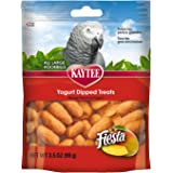 Kaytee Fiesta Yogurt Dipped Mango Flavor Treat for Large Hookbills, 3.5-oz bag
