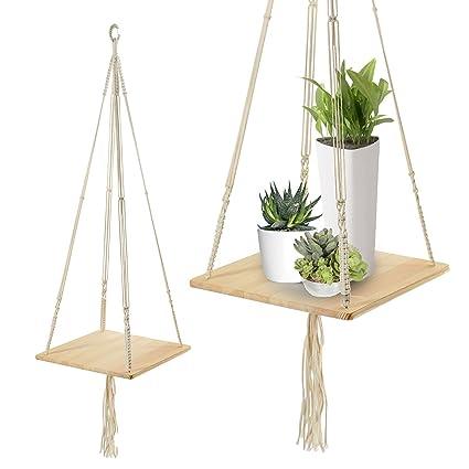 Amazon Com Plant Hanger Adsro Bohemian Handmade Hanging Plant