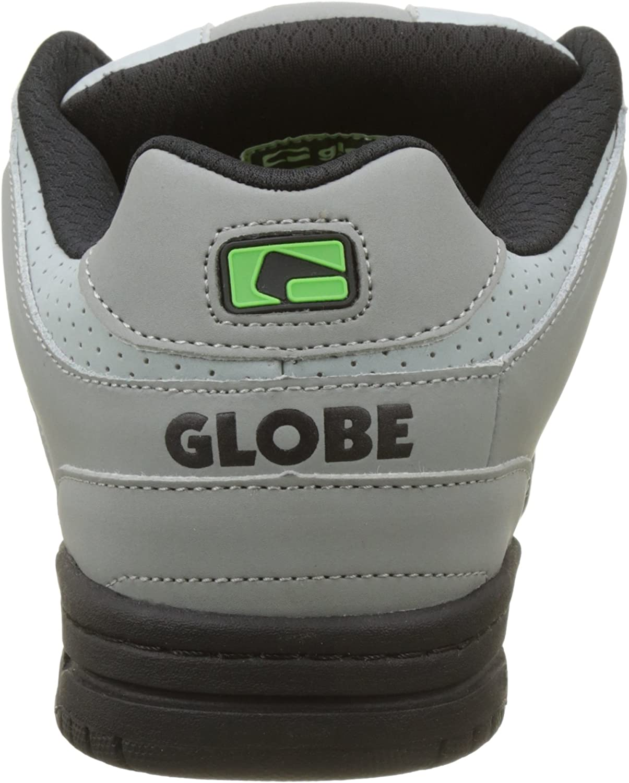 Globe Mens Skateboarding Shoes Multicolor Grey Black Lime 8.5 UK