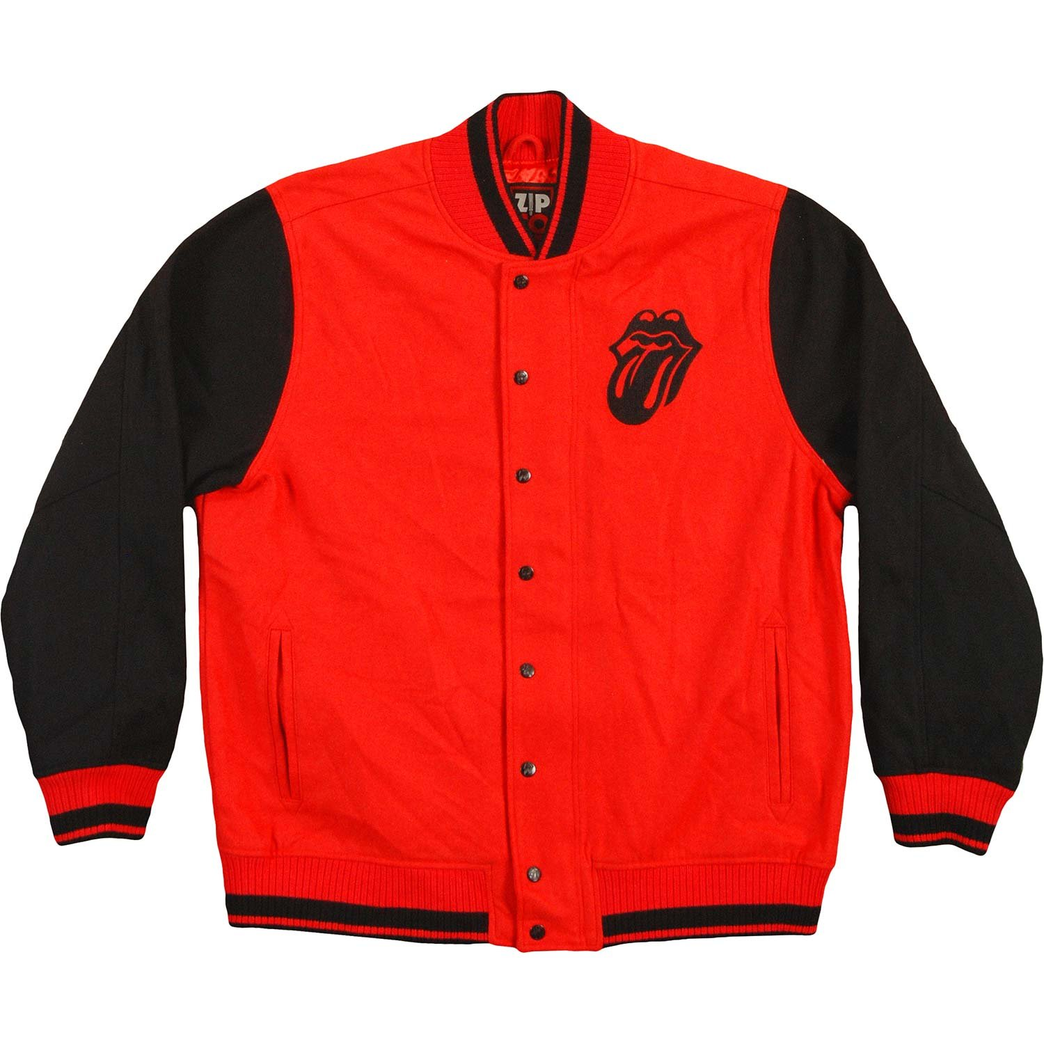 Rolling Stones Men's Varsity Jacket Small Red by Rolling Stones