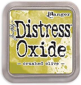 Ranger Tim Holtz Distress Oxides Ink Pad Crushed Olive