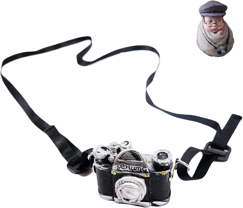 Baby Photography Props Newborn Boy Photo Shoot Outfits Infant Gentleman Mini Camera