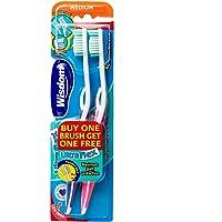Wisdom Ultra Flex Toothbrush Twin Pack, Medium, 2 ct